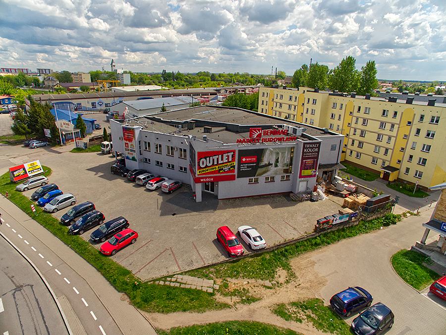 Benmar przy ulicy Ks. J. Popiełuszki 117 w Białymstoku