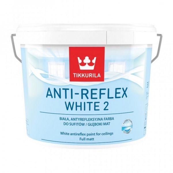 Farba Tikkurila Anti-Reflex White Biała