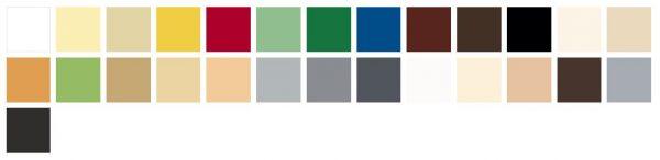 Paleta kolorów Śnieżka Supermal