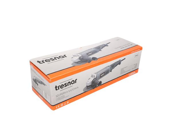 TRESNAR Szlifierka kątowa 125mm 1200W z regulacją obrotów 2